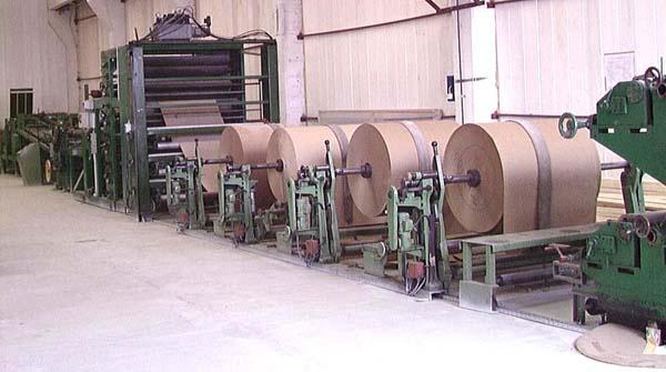 Комплектная линия по производству бумажных мешков